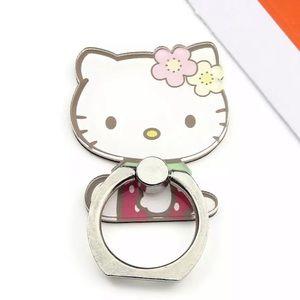 Hello Kitty Accessories - NWT Hello Kitty Phone Ring •Rotates360°•Strawberry